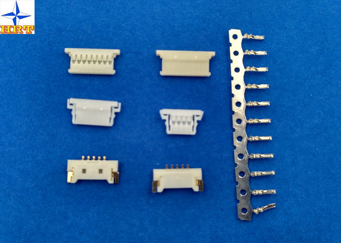 Single Row 1.25mm Pitch Circuit Board Wire Connectors Molex 51146 Replacement