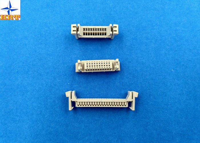 LVDS connector dual row wire housing1.25mm pitch DF13 stype wire to board connector